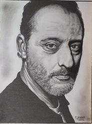 portrait realiste jean reno