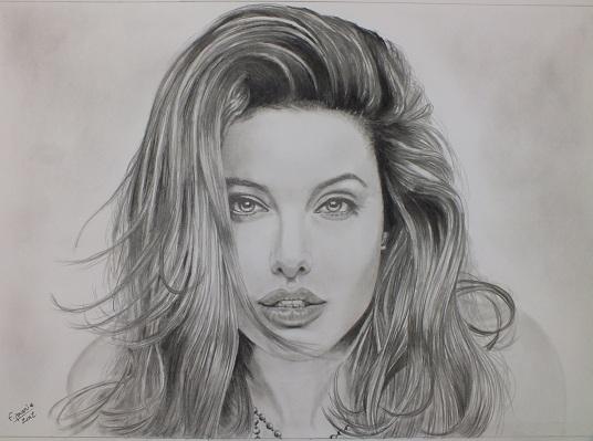 Dessin portrait de stars au crayon - Portrait dessin facile ...